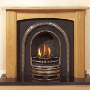 Angus Solid Oak Mantel