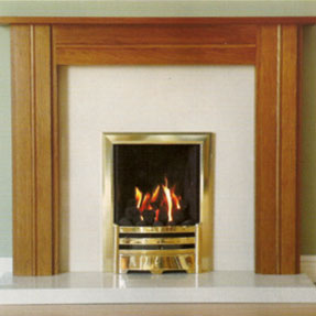 Ashdown Solid Oak Mantel