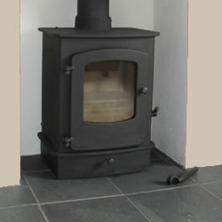 Black Slate Hearth : Chimserv