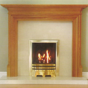 Buckingham Solid Oak Mantel