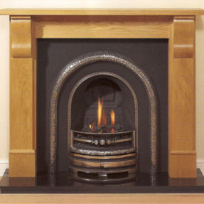 Corbel Solid Oak Mantel