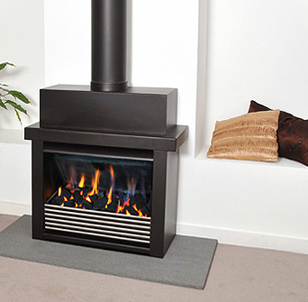 Cleanline Solo Freestanding Firebox