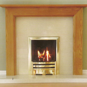 Welby Solid Oak Mantel